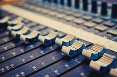Music mixer Stock Photos