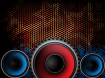 Music modern background Royalty Free Stock Images