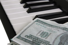 Music for money Stock Photo