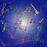 Music motive Stock Images