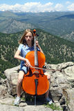 Music in the Mountains Stock Photography