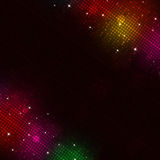 Music Multicolor Disco Lights Royalty Free Stock Image