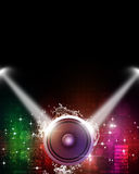 Music Multicolor Flyer Royalty Free Stock Image
