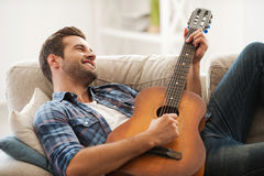 Music is my life. Royalty Free Stock Photo