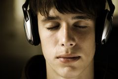 Music in my mind royalty free stock photo