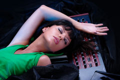Music never sleeps Stock Images
