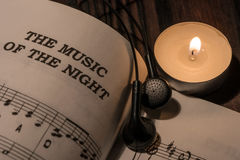 The music of the night Royalty Free Stock Photography