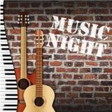 Music Night Wall Stock Photos