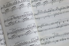 Music Notation Stock Photo