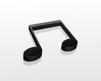 Music Note Stock Photography