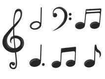 Music note Stock Photos