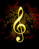 Music note Royalty Free Stock Photography