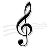 Music note. The symbol of nice music note Stock Image