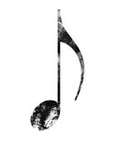 Music note Royalty Free Stock Photos