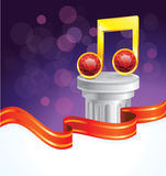 Music note award Stock Photos