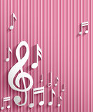 Music note background. Abstract music note background illustration Royalty Free Stock Image
