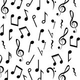 Music note background design Royalty Free Stock Photo