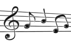 Music note Stock Images