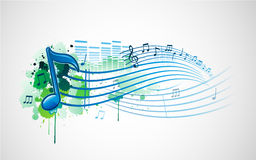 Music note design Stock Photos