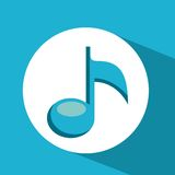 music note design Royalty Free Stock Image