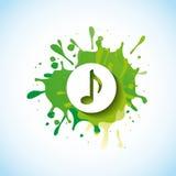 music note design Stock Image