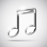 Music note icon Royalty Free Stock Images