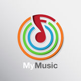 Music Note Icon Royalty Free Stock Photography