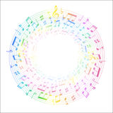 Music note music Royalty Free Stock Images