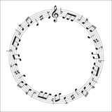 Music note music Stock Photography