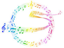 Music note music Stock Photos