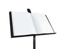 Music Note Stand Stock Photo