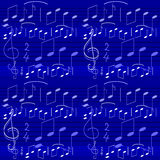 Music note wallpapers Stock Photography