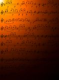 Music notes. Stock Photography