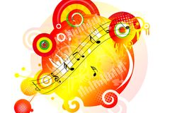 Music notes Royalty Free Stock Image