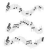 Music notes Stock Photos
