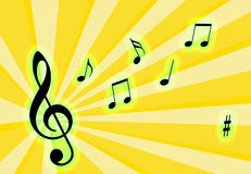 Music Notes Royalty Free Stock Images