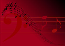 Music Notes Royalty Free Stock Photography