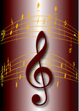 Music notes. This image is a  illustration and can be scaled to any size without loss of resolution. This image will download as an EPS file. You will need a Stock Photo