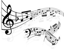 Free Music Notes Background Stock Images - 10106084