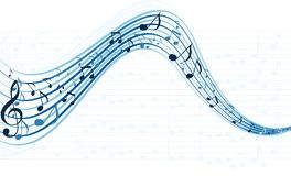 Music notes for colorful design use Royalty Free Stock Photo