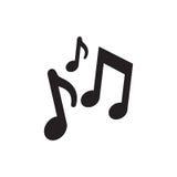 music notes composite creative pictogram Stock Photo