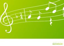Music notes, design element concept stock illustration