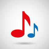 music notes design Royalty Free Stock Photography