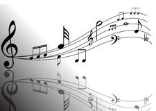 Music notes design Stock Image