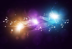 Music Notes Party Background Royalty Free Stock Images
