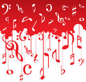Music notes pattern Stock Photos