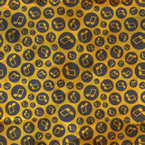Music notes. Seamless pattern. Stock Images