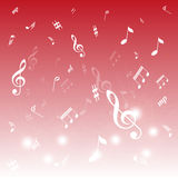 Music Notes Stock Image