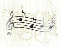 Music notes for your design. Royalty Free Stock Photo