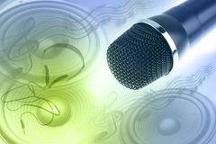 Music objects Royalty Free Stock Photo